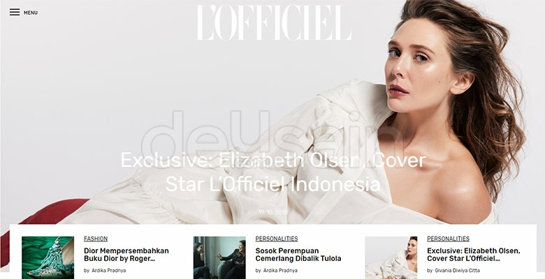 website l'officiel indoneisa
