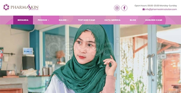 website kosmetik