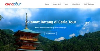 Website Travel Jepang