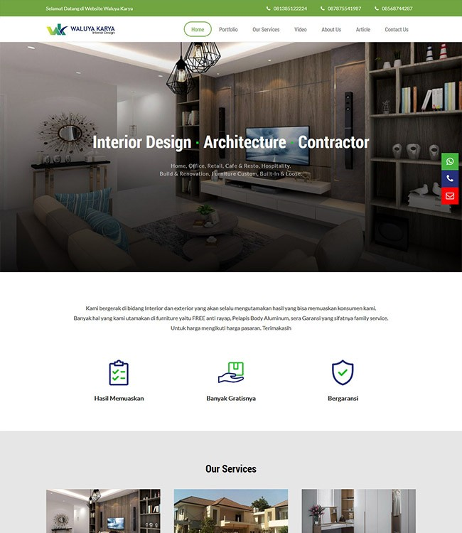 website jasa interior