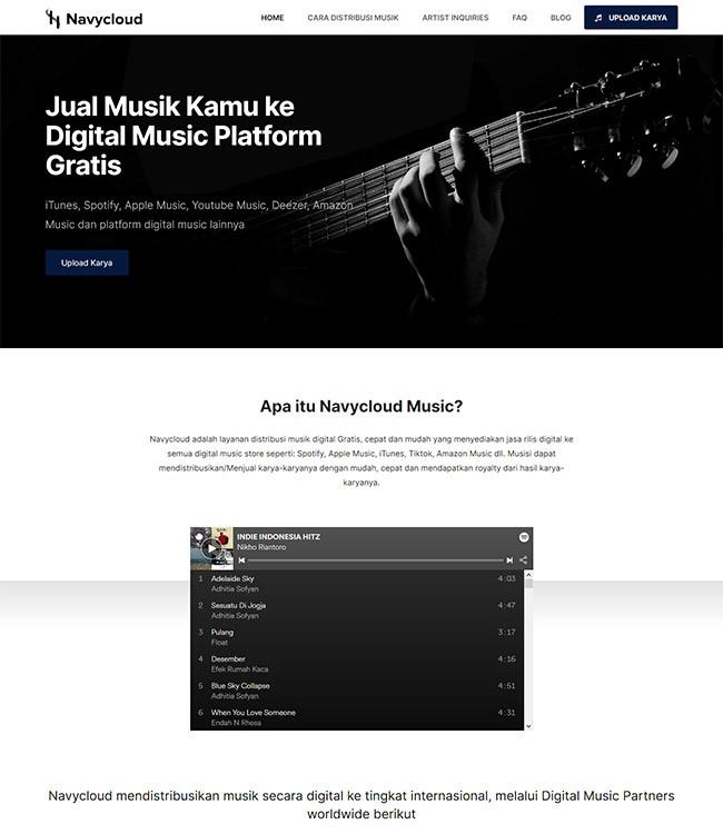 website musik