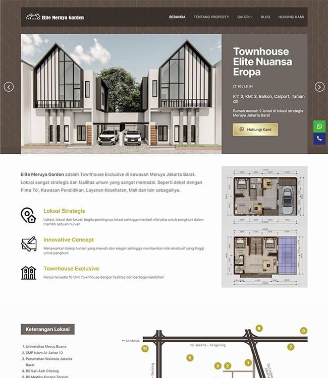website property di jakarta barat