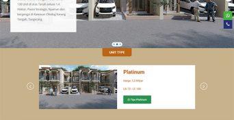 Website Property di Tangerang – Lagaya Land