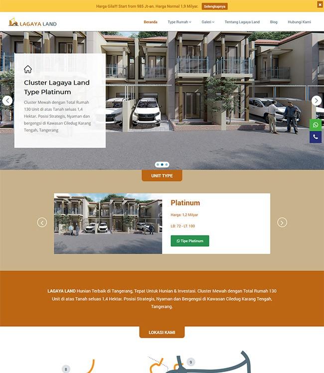 website property di tangerang