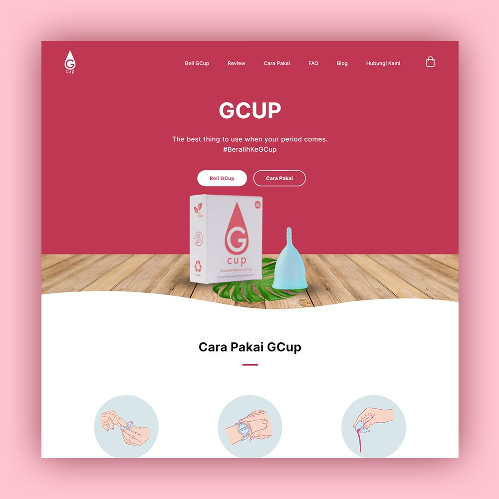 Website Menstrual Cup
