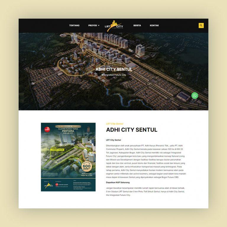 Website Property Adhi City