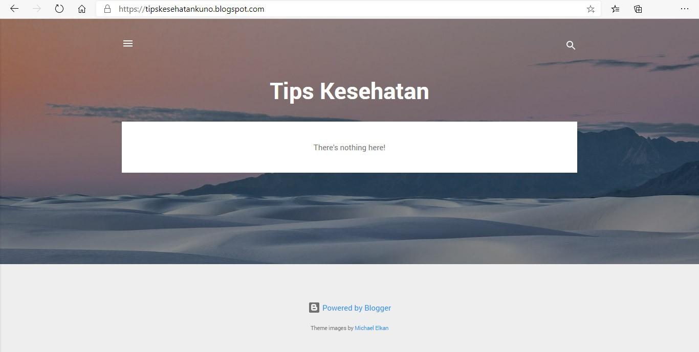 cara membuat blog langkah 4