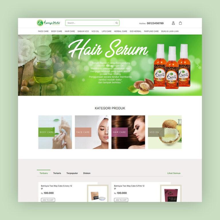 website produk herbal