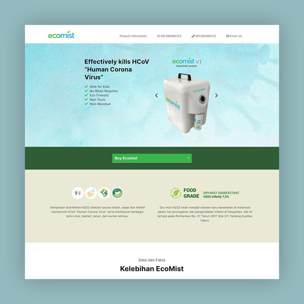 website dry mist machine