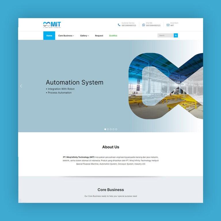 website perusahaan engineering