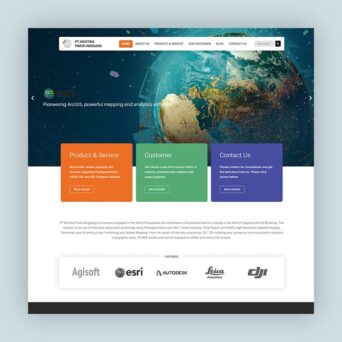 Website Geospatial – PT Mustika Paruh Anggang
