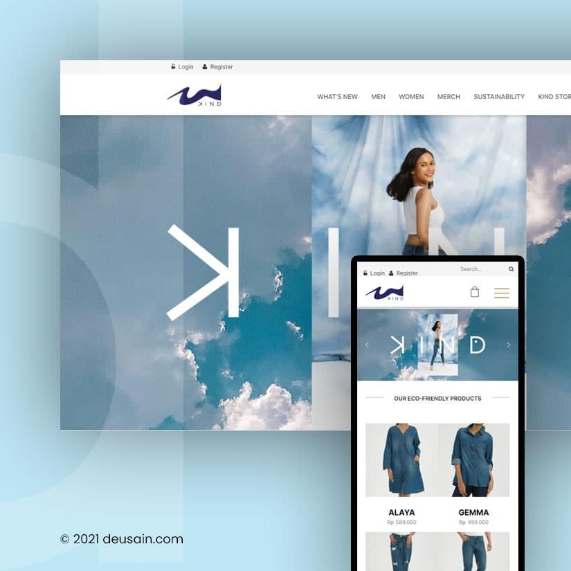 Website Denim Indonesia