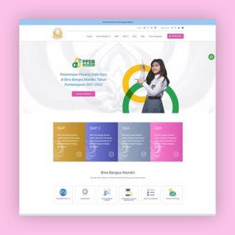 Website Sekolah Swasta – Bina Bangsa Mandiri