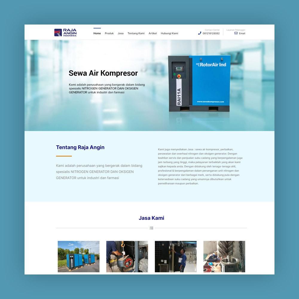 Website Oksigen Generator